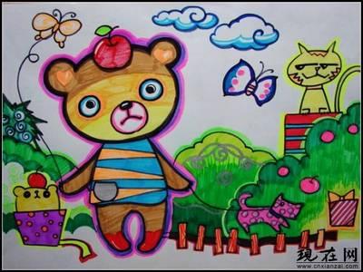 儿童画颜色搭配要点