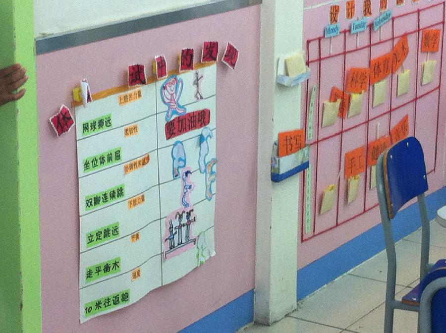 整理了很久,实拍北京幼儿园区域材料及环境布置.