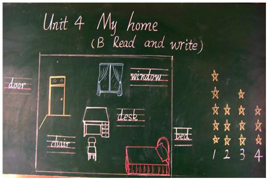 板书英语优秀初中v板书小学六年级数学电子书图片
