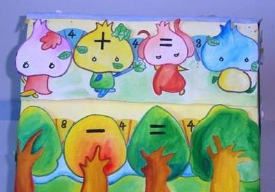 幼儿园教案数学游戏:智救小白兔