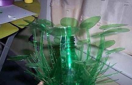 作业标题:矿泉水瓶子制作的玩具