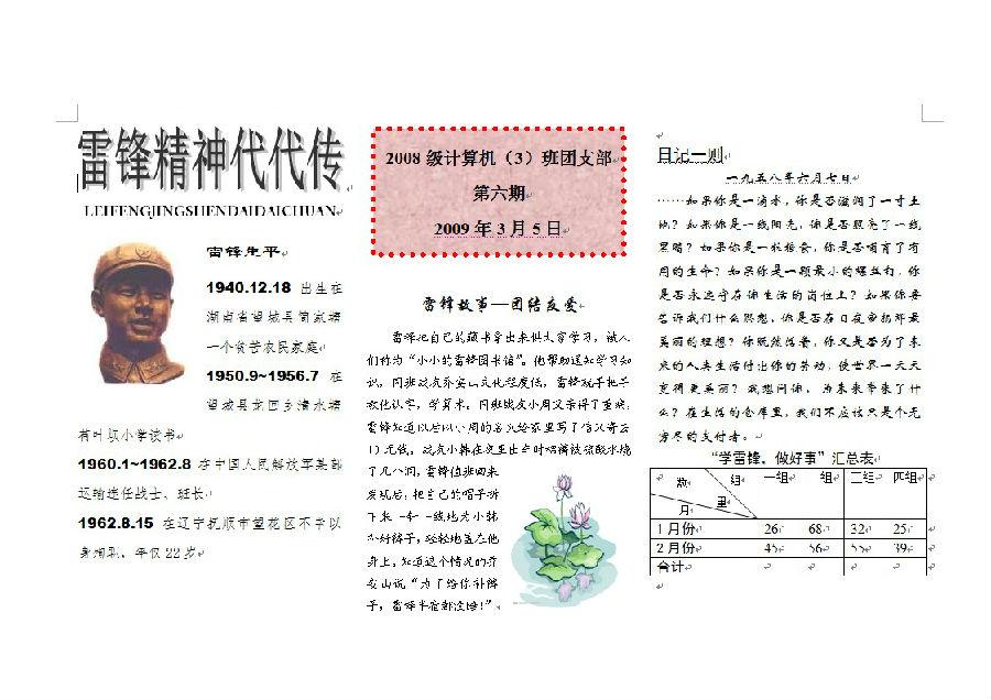 word图文表混合排版