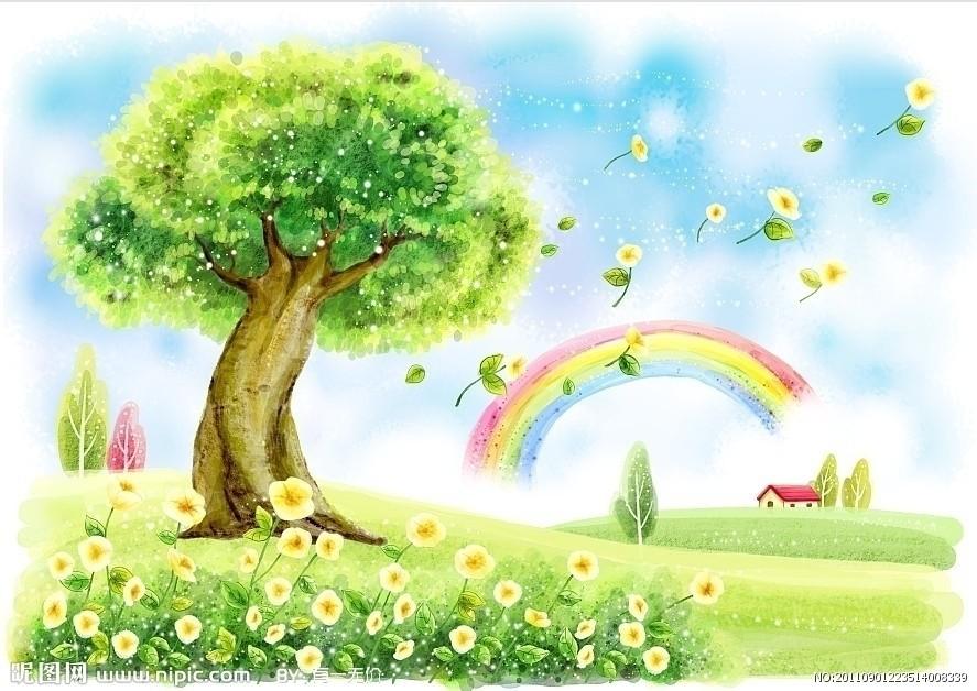 作业标题:绘画一幅《春天来了》